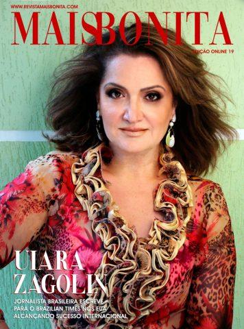 Uiara Zagolin capa da Revista Mais Bonita.