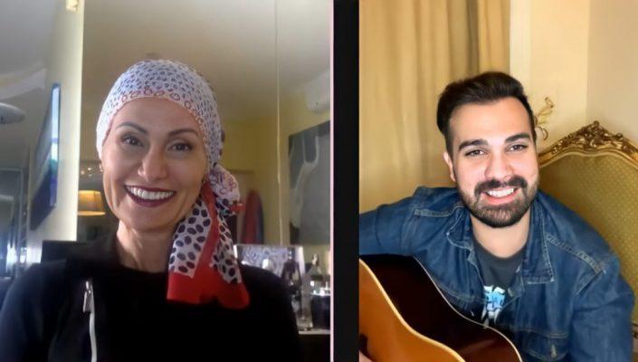 Leo Von em live com Faa Morena fala sobre O Carpinteiro