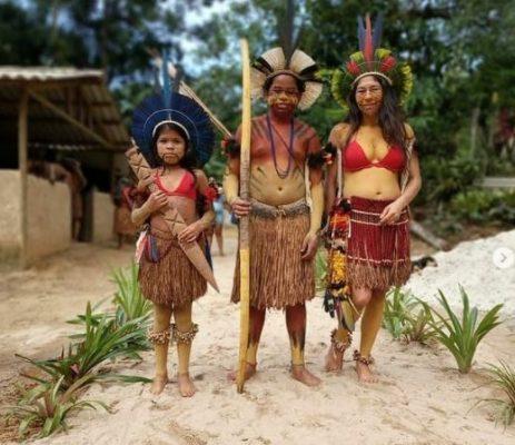 Doações para Aldeia Indígena Pataxó do Iriri em Paraty