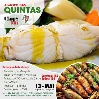 O tradicional Almoço das Quintas na Casa de Portugal