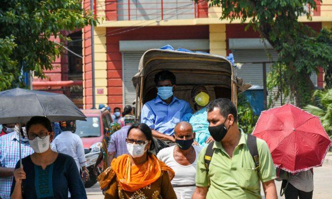 Probabilidade de pico da pandemia na India