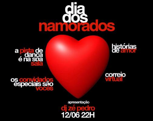 Vem aí Valentine's Show com DJ Zé Pedro