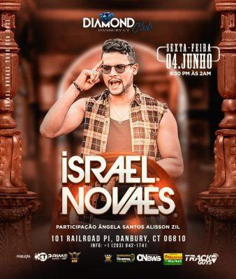 O cantor paraense Israel Novaes em turnê nos EUA