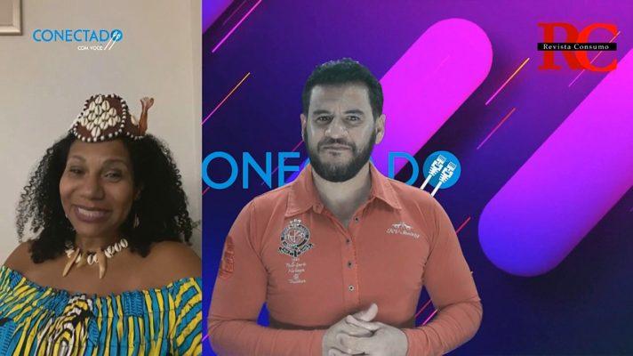 Programa CONECTADO COM VOCÊ e a Rainha DIAMBI