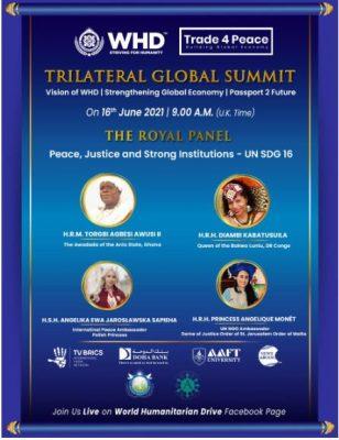 Trilateral Global Summit para eliminar a fome no mundo