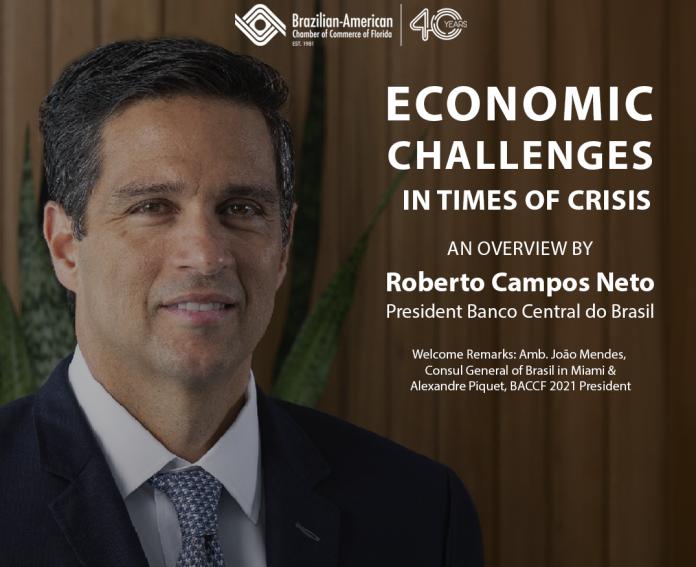 Presidente do Banco do Brasil abre cenario de discussao sobre a crise economica do Brasil nos Estados Unidos