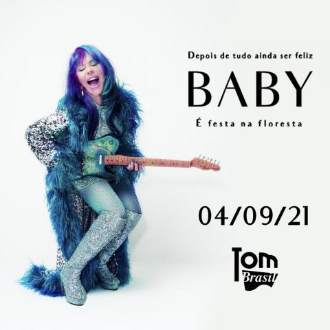 Baby do Brasil volta aos palcos com visual novo