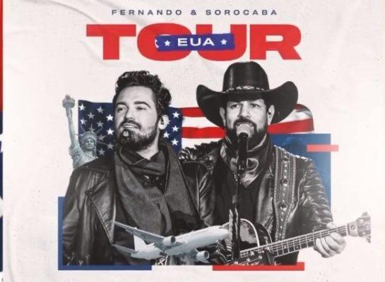 Fernando e Sorocaba em tour pelos Estados Unidos
