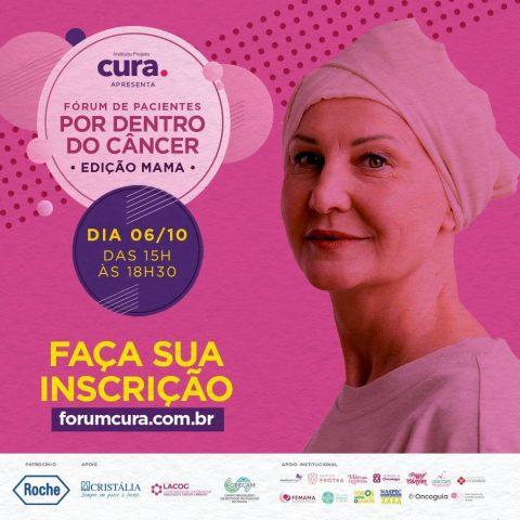 """Fórum de Pacientes """"Por dentro do câncer"""" online e gratuito"""